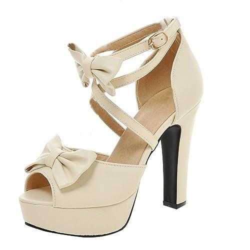 Plataforma High Ancho Uh Mujer Heels Con Platform Sandalia Tacon K31TlFJc