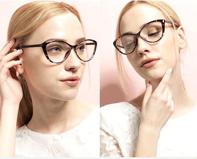 Occhiali da vista trasparenti Hibote Occhiali Cat Eye da uomo donna Occhiali da vista 122901