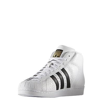 brand new 387f9 90c6c adidas Originals Pro Model Animal Men Sneaker White S75068, Size 44