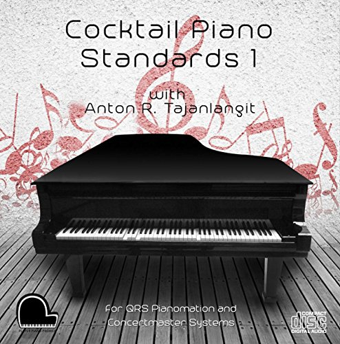 Qrs Player - Cocktail Piano Standards 1 - QRS Pianomation and Baldwin Concertmaster Compatible Player Piano CD