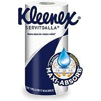Kleenex Maxi-absorb Servitoalla, 1 Rollo Con 117 Hojas Dobles