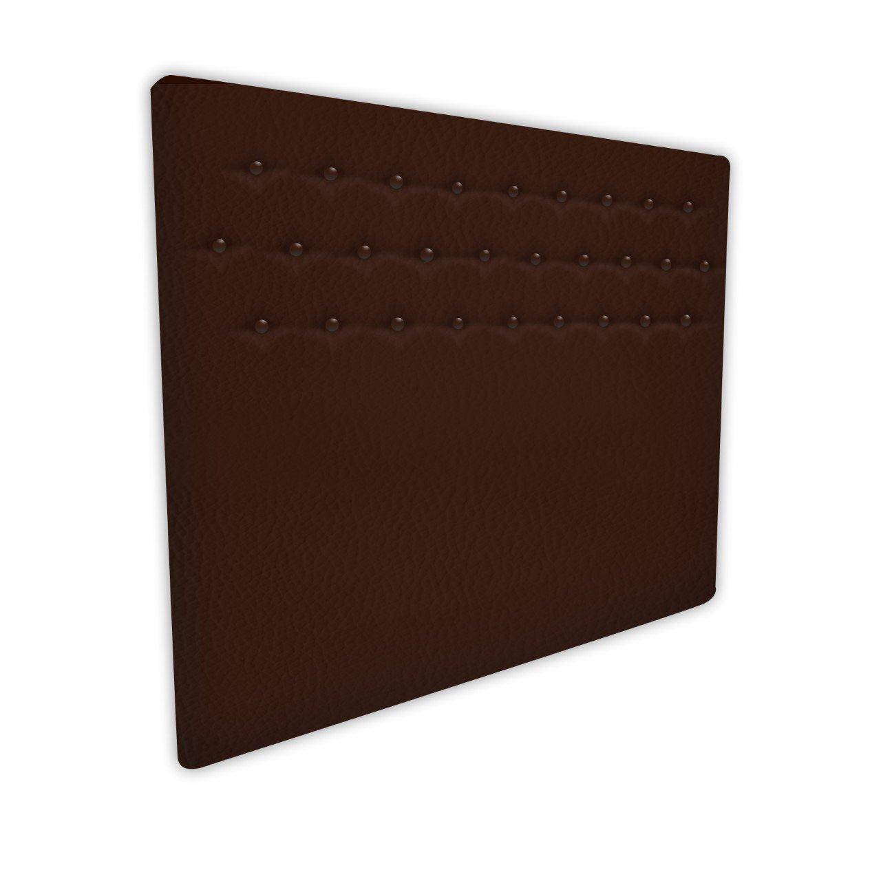 100X57 Cms Color Chocolate SUENOSZZZ Cabecero Indiana Cama 90