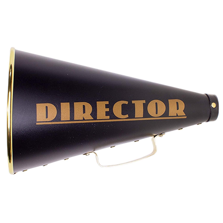 "13"" Directors Megaphone Hollywood Movie Set Party Prop"
