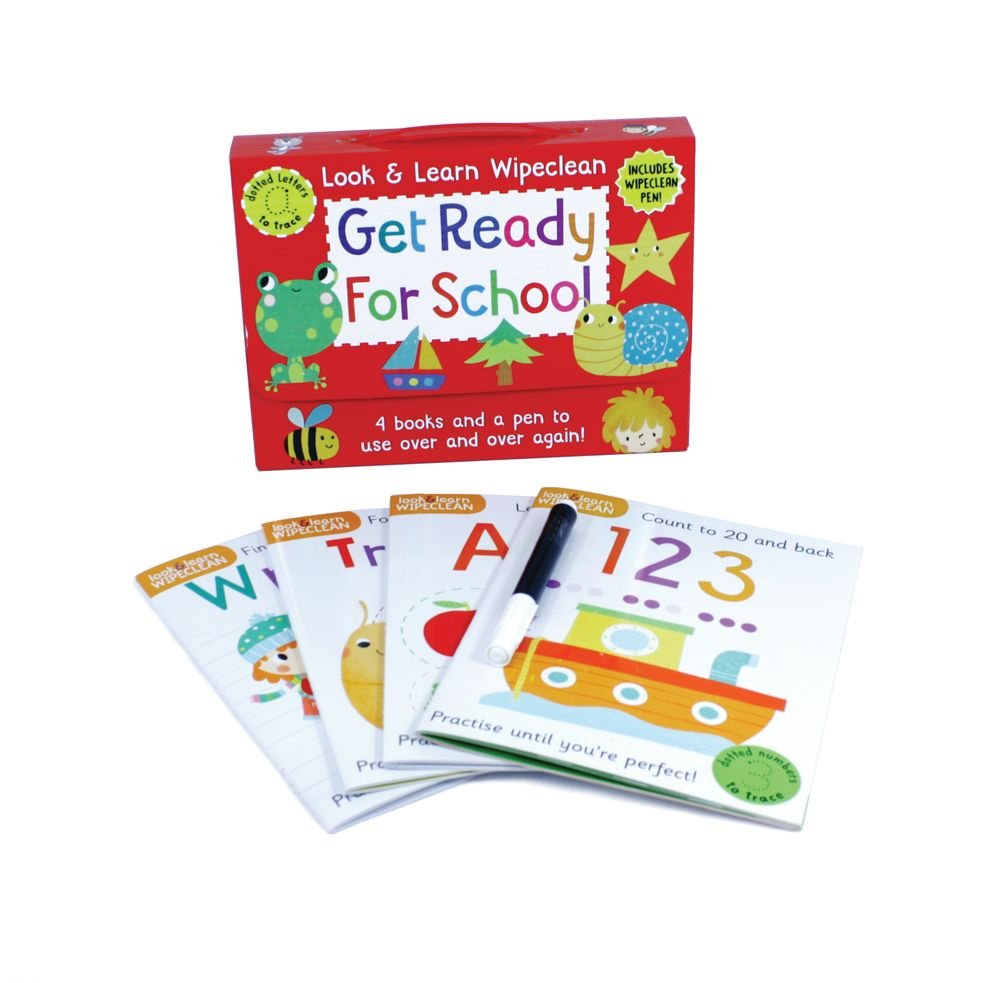 Get Ready for School: Four Books and a Pen to Use Over & Over ...