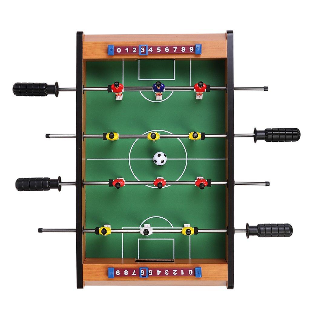 Virhuck Mini Mesa Foosball Mesa de Juego de Fútbol x cm Juego