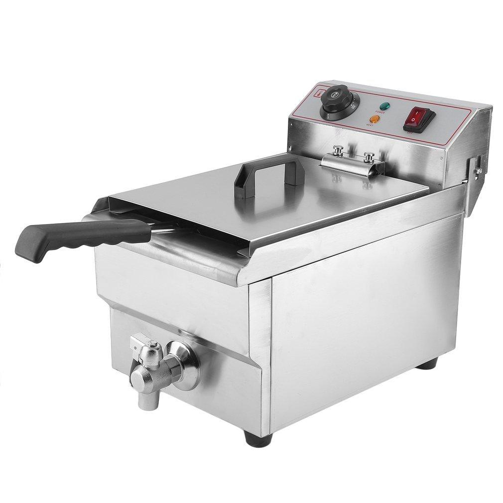 kitech ildhrrd 3000 W Freidora acero inoxidable fritura Gastronomía eléctrico freidora 10 L fría zonas fritura: Amazon.es: Hogar