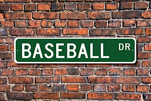 (Teisyouhu Funny Metal Signs Baseball Sign Baseball Fan Baseball Player Americas Favorite Pasttime Garage Home Yard Fence Driveway Street Decor)