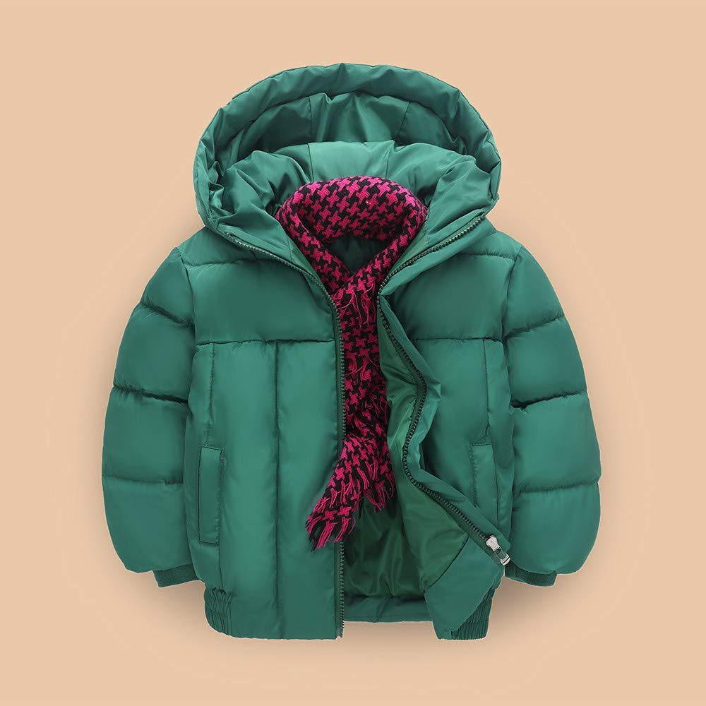 erthome Kinder Baby M/ädchen Mantel Winter Warme Coat Baby Jacke Winterjacke