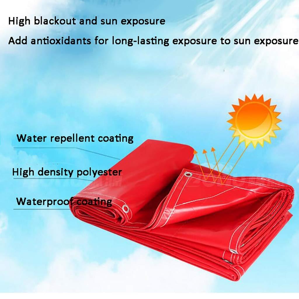 汎用防水シート、100%全天候型防水日焼け止めテントトラックカバー、550g / m 2 (サイズ さいず : 5*6m) B07RWMFT61  5*6m