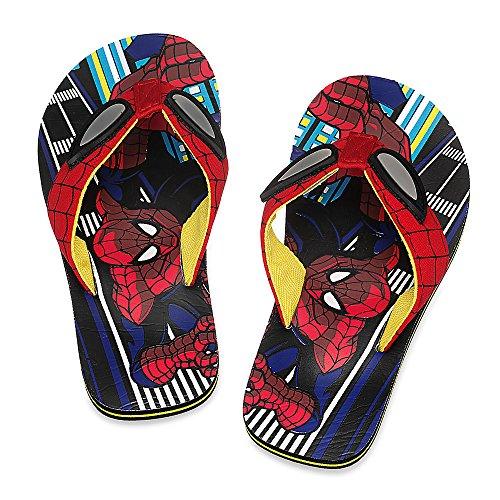 Disney Store Spider Man feet Flops