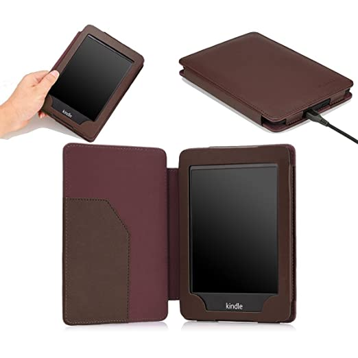 77 opinioni per MoKo Kindle Paperwhite Case- Sottile Supporto Cover Custodia per Amazon Nuovo