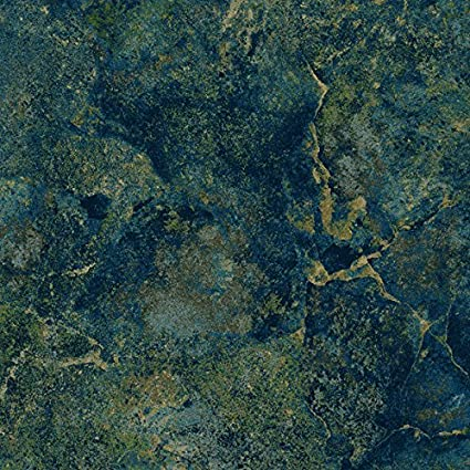 Smokey River Stonehenge Blue Planet Quilt Fabric  76 x 97