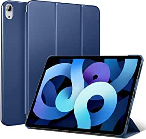 For iPad Air 4 (10.9-inch, 2020) 4th / iPad Pro 11inch 2018 Smart Case Flip Cover Leather Case Soft TPU Back And Trifold Stand With Auto Sleep - Blue - 2725612369878