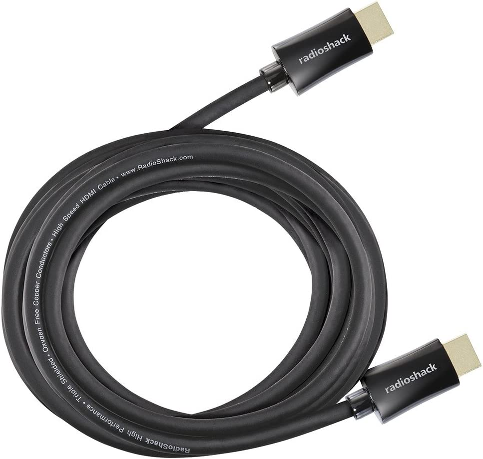 RadioShack 20-Foot High Speed with Ethernet HDMI Cable