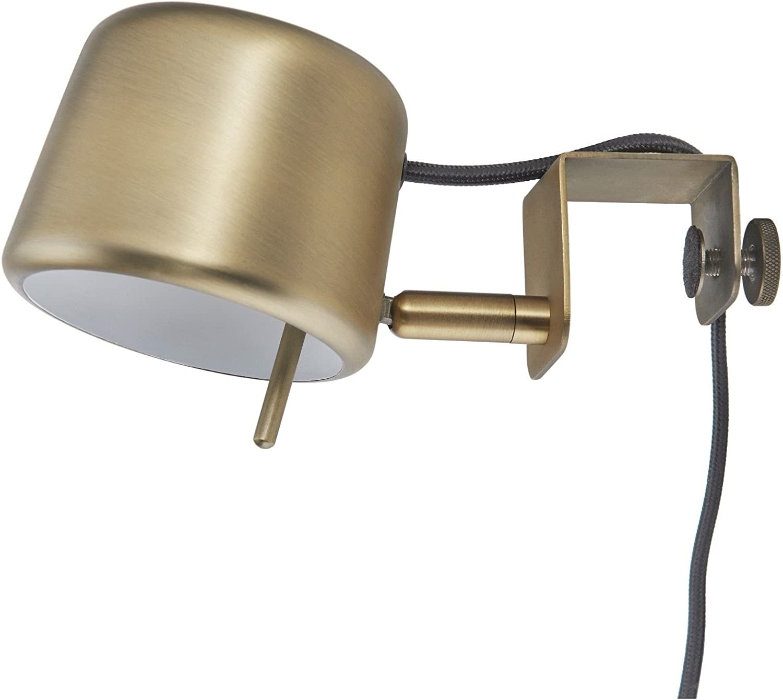 Ikea Varv Clamp Spotlight Lamp Brass Colour Dimmable Modern 200 Lm