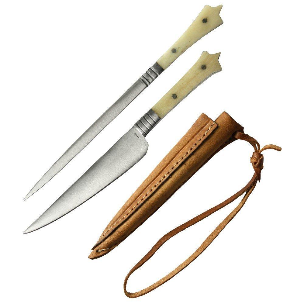 Haller trinchador - Juego de cuchillo y trinchador Haller al estilo medieval be3af8