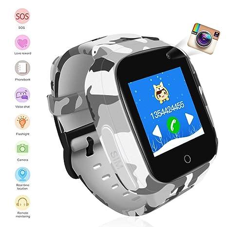 ZQshoub LEC2 1.3 Inch Smart Watch Kids GPS WiFi 600Mah Smartwatch ...