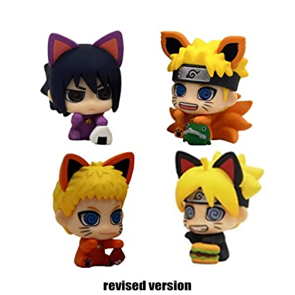 Yingjianjun Naruto Ninja Ojo Gato de la Suerte Bo Hombre ...