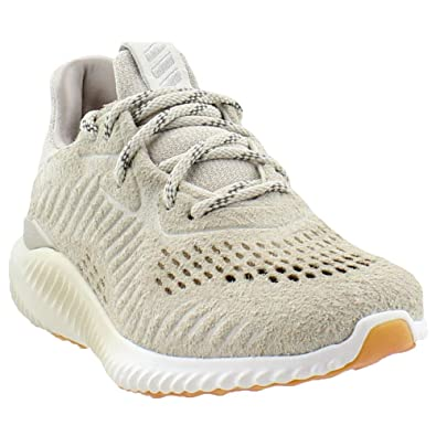 40c90c6be6ca3 adidas Alphabounce LEA Men s Shoes Clear Brown Running White by3122 (8.5 D(M