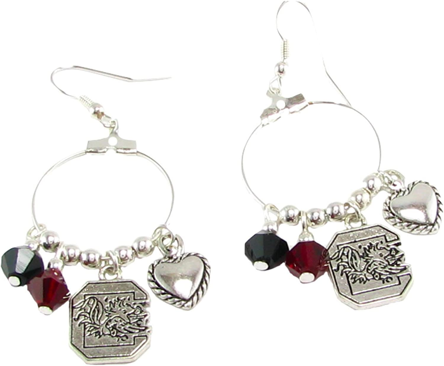 USC Gamecocks Earrings