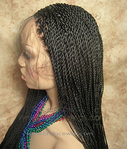 Fully Hand Twisted Two Strand Twist Senegalese Twists Lace Front Wig Poetic Box Buy Online In Dominica At Dominica Desertcart Com Productid 29867522