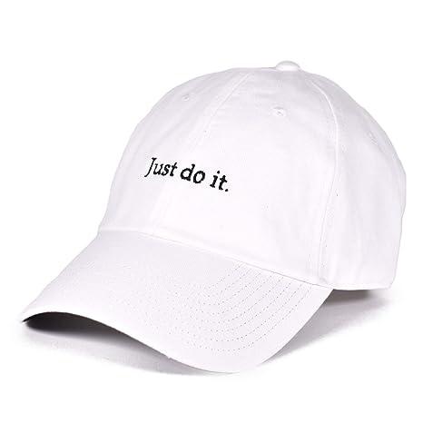 3a1cc7aa Nike JDI HERITAGE86 Cap, Unisex, 925415-100, white/black, One Size ...