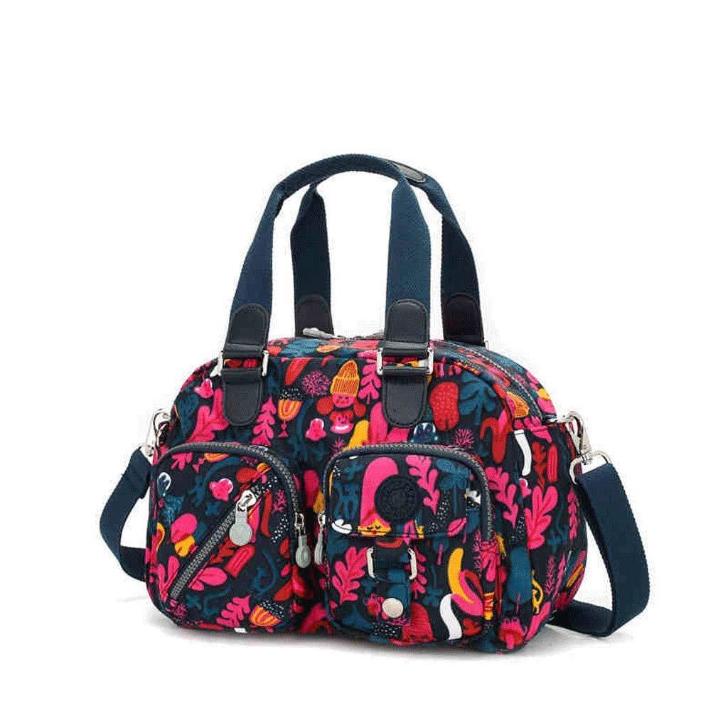 SLH Handtasche weibliche Big Bag Freizeit Handtasche Messenger Bag weibliche Wasserdichte Umhängetasche Multi-Layer