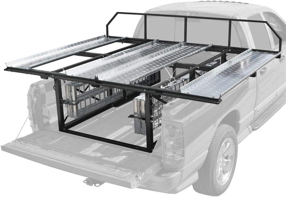 double atv carrier rack rampen fur pickups mit 6 oder 8 ft betten