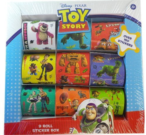 Disney Pixar Toy Story 3 9 Roll Sticker Box