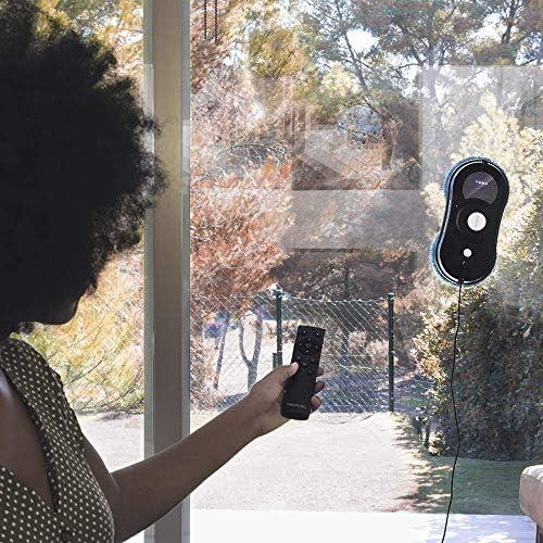 Cecotec Robot nettoyeur de vitres WinDroid 870 Connected. Navigation intelligente, contrôle APP, triple système de sécurité, 4 programmes de nettoyage - Home Robots