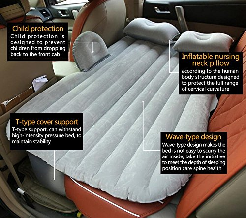 Review Car Travel Inflatable Mattress