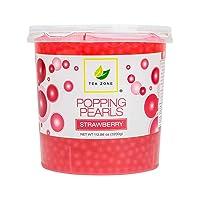 Tea Zone Apex Popping Pearls Jar, Strawberry, 7 lb.