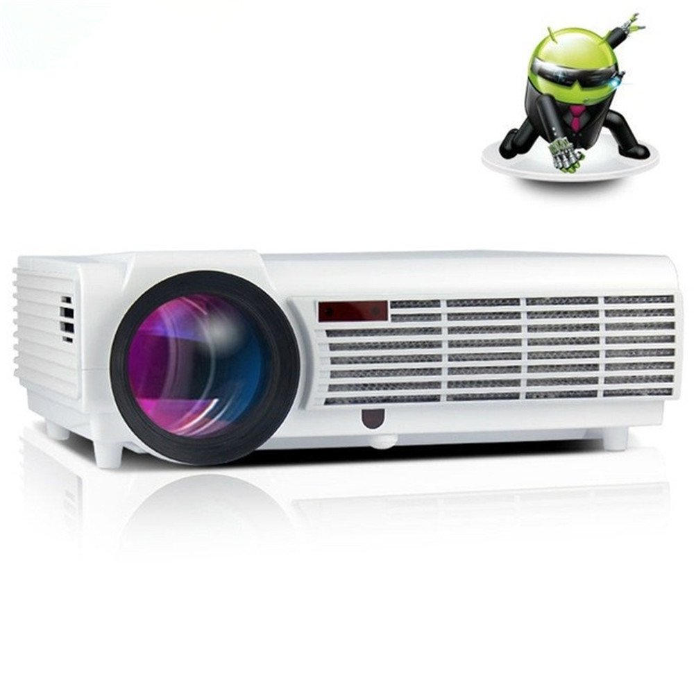 LCD LED 3000LumensプロジェクターフルHD 1280x800ホームシアターのUSBテレビサポート1080PのビデオLCDの3Dビーマービデオゲームprojetorを導いた [並行輸入品]   B076HVZXHV