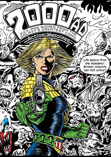 The 2000AD Action Heroines Colouring Book (Snowbooks Fantasy Colouring Books) by Snowbooks
