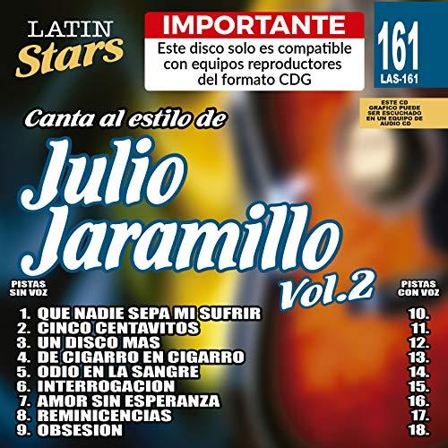 Karaoke Music CDG: Latin Stars Vol. 161 - Julio Jaramillo Vol.2 CDG