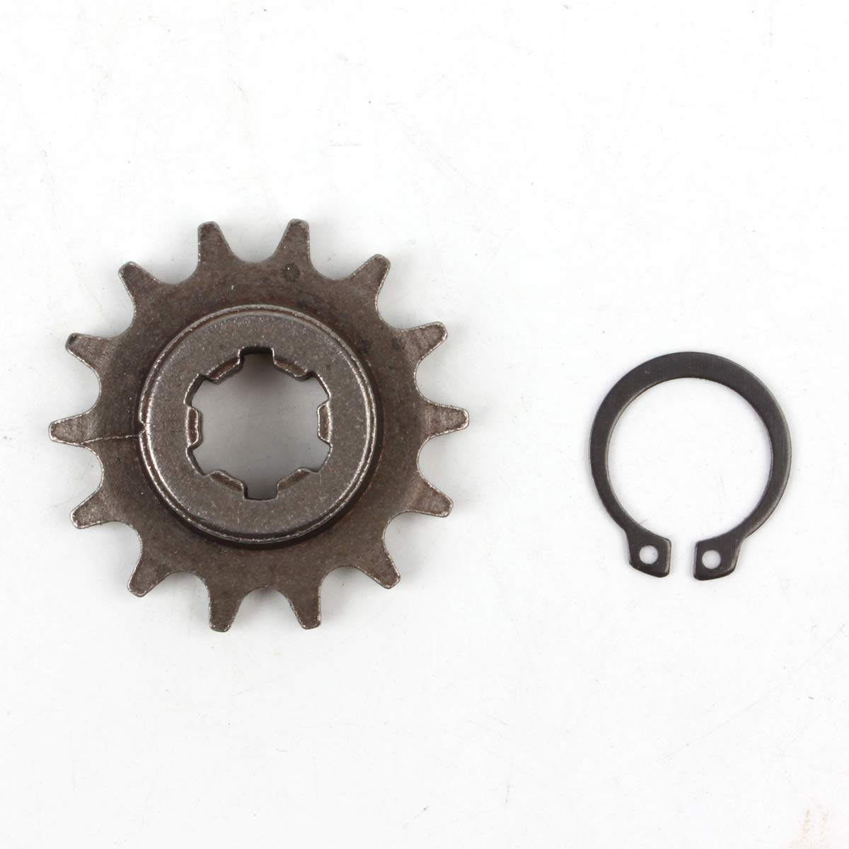 PRO CAKEN T8F 14T Front Pinion Clutch Gear Box Chain Sprocket 47cc 49cc Dirt Bike Minimoto T8F Pitch 14 Teeth DirtBikeClub