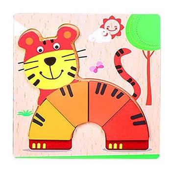 De Alta Calidad De Dibujos Animados Tiger Jigsaw Puzzles