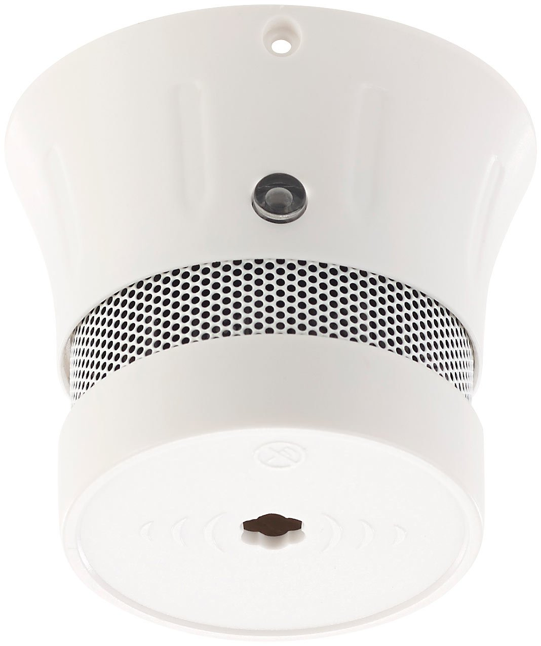 VisorTech - Mini detector de fuego: Mini detectores de humo con 5 años de batería, 85 Db, en 14604, 10 de Juego (Mini óptico de humo, fotoelektrisch, ...