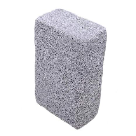 Hemore 2pcs Asar a la Parrilla Limpia Inodoro USA la Parrilla de Piedra de Varios Ladrillos para la Limpieza de Las Unidades Ambiental Grasas Parrilla ...