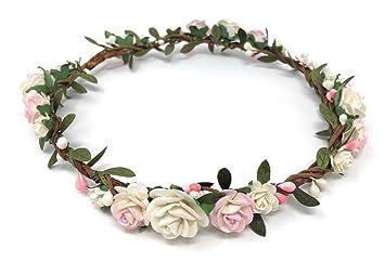 ROSE FLOWER ALICE BAND**Wedding Accessories*Flowergirl*Bridesmaid*Vintage*Boho**