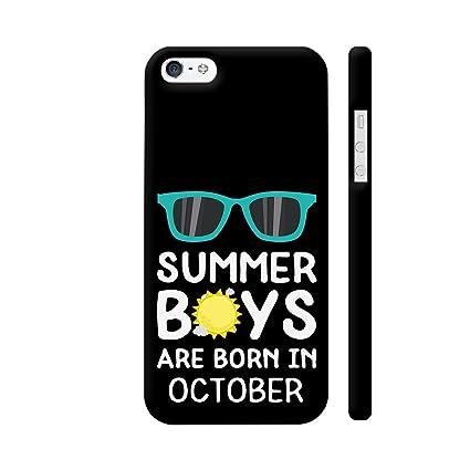 sale retailer c70f1 547fa Colorpur iPhone 5 / 5s Cover - Summer Boys are Born in: Amazon.in ...