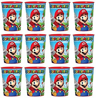 Super Mario Lot of 12 16oz Party Plastic Cup ~Party Favor Supplies~ by SuperMario (B01C6LVL2Q) | Amazon price tracker / tracking, Amazon price history charts, Amazon price watches, Amazon price drop alerts