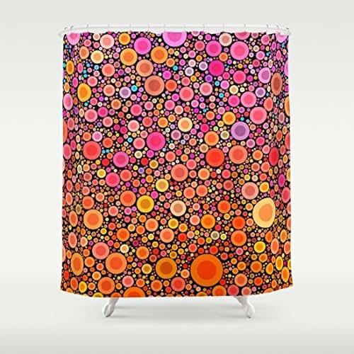 Amazon.com: Tangerine Dream Shower Curtain: Handmade