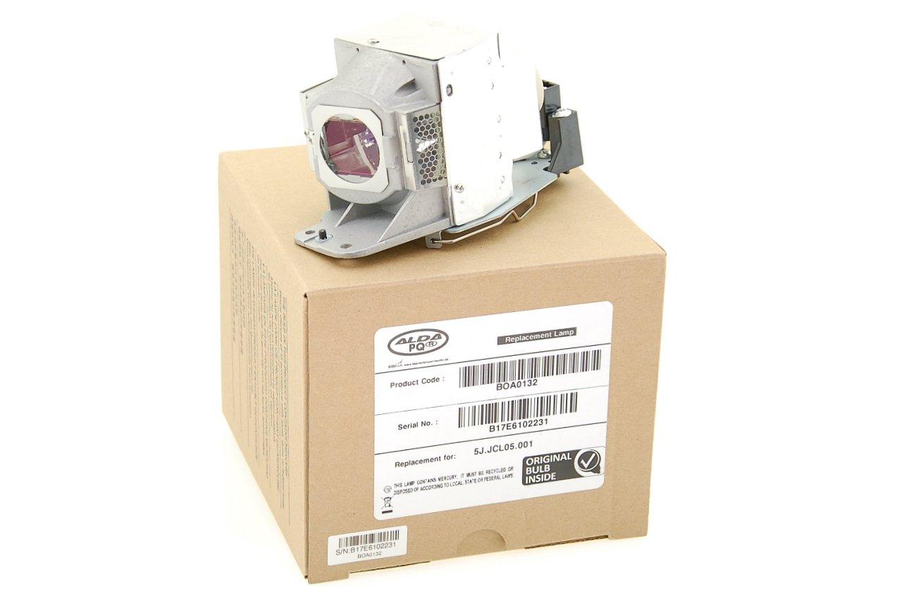 Alda PQ Original, Beamerlampe / Ersatzlampe 5J.JCL05.001 passend fü r BENQ TH682ST Projektoren, Markenlampe mit PRO-G6s Gehä use / Halterung Alda PQ Original - Beamerlampen 58777
