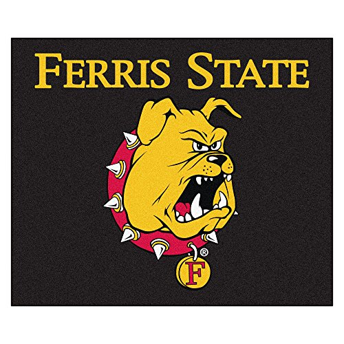 (NCAA Ferris State University Bulldogs Tailgater Mat Rectangular Outdoor Area Rug)