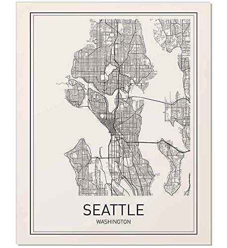Seattle Map Print, Seattle Poster, Seattle Map, Map of Seattle, City on visit seattle map, northshore school district map, king county map, los angeles seattle map, seattle city light map, time in seattle map, seattle tourist map, puget sound regional council map, downtown seattle walking map, seattle weather map, washington map, seattle pier map, city md map, seattle street map, seattle city parks map, city road map seattle wa, seattle visitors map, seattle center map, capital city map, seattle city limits map,