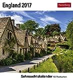 England - Kalender 2017: Sehnsuchtskalender, 53 Postkarten