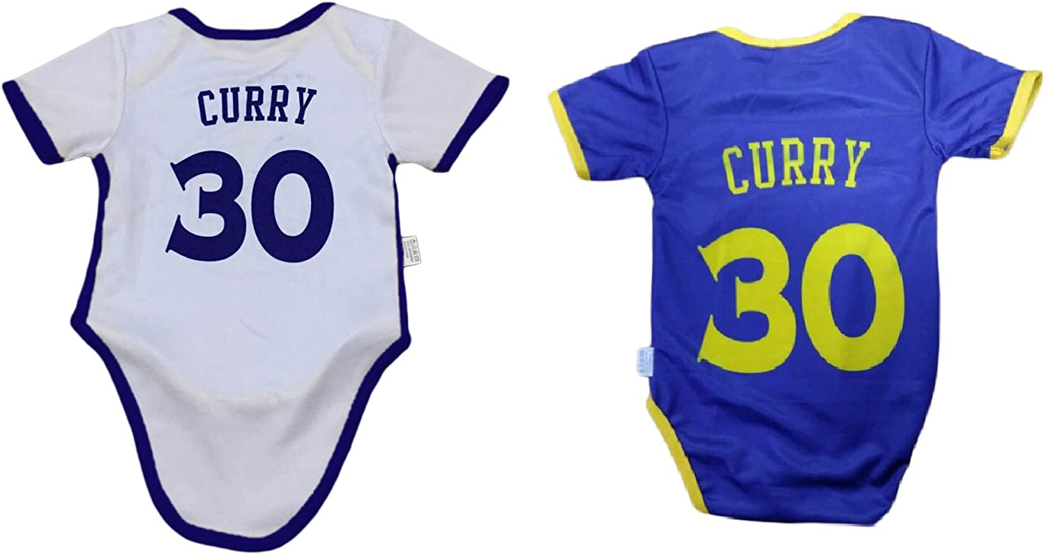 iSport Gifts Steph Curry Basketball Jersey Baby Infant /& Toddler Onesies Rompers Home//Away Jersey Design