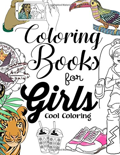 Beauty Glitter Color by Number-Girls Coloring Book für ...