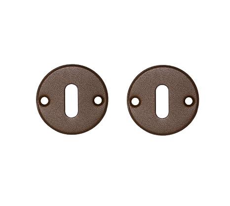 Chrisligne ECLR60/ROS - Embellecedor para tiradores de puerta, color marrón óxido